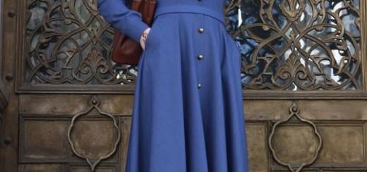 Pinar-Sems-Kot-Elbise-Koyu-Mavi-boydan-tesetturlu-elbise