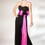 belden-buyuk-kurdeleli-uzun-siyah-tulum-elbise-222,50 tl