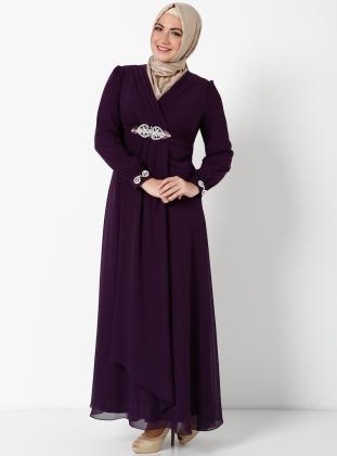 beli-tasli-mor-uzun-abiye-elbise-sunnet-annesi-giysisi