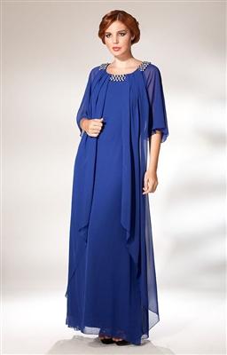 buyuk-beden-abiye-bayan-elbisesi-mavi-salli