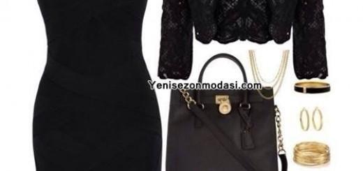 dar-siyah-elbise-bolero-kombini