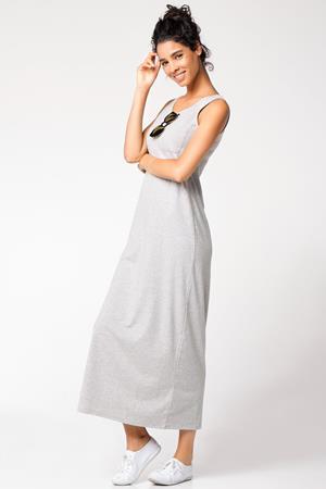 ekru-boydan-kolsuz-cepli-spor-elbise