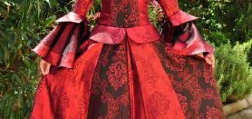 hocazade-kirmizi-kabarik-abiye-elbise