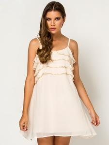 ip-askili-mini-krem-firfirli-sifon-elbise