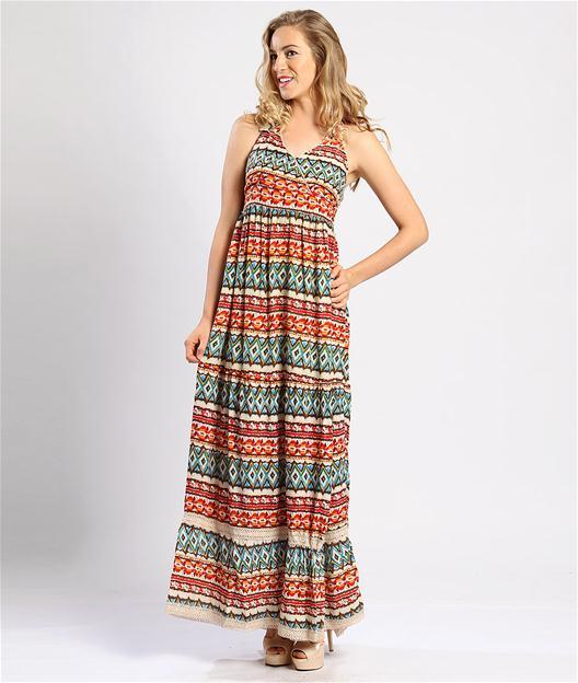 kolsuz-desenli-uzun-maksi-bayan-elbise