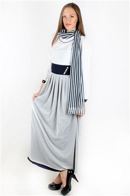 lacivert-beyaz-uzun-kollu-kapalilar-icin-elbise-Fiyatı 49,95 TL