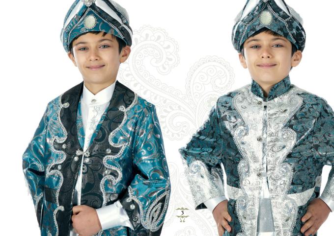 mavili-gumus-renkli-simli-sunnet-elbisesi-kaftanli-padisahli