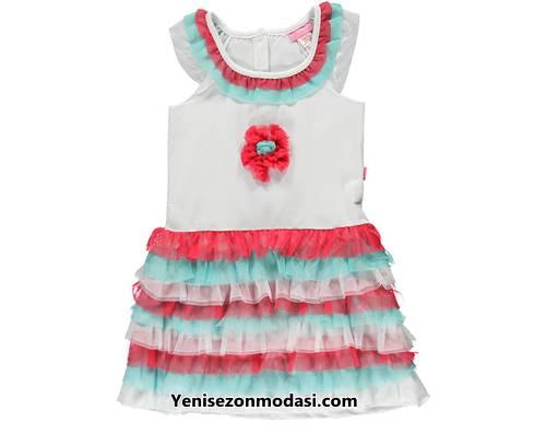 renkli-firfirli-tul-etekli-beyaz-kolsuz-kiz-cocuk-elbisesi