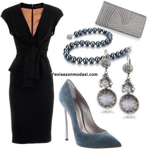 siyah-iki-parca-elbise-kombini