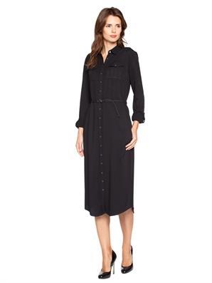 siyah-kemerli-uzun-cepli-onden-dugmeli-siyah-kadin-elbise