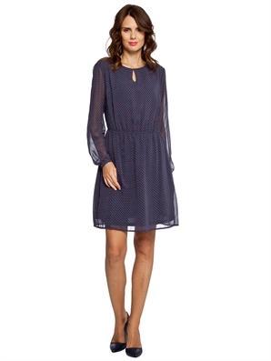 tul-kollu-detayli-bayan-petrol-mavisi-sifon-elbise